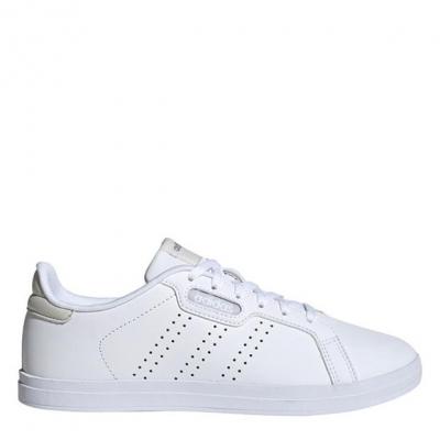 adidas Courtpnt Base femei alb gri