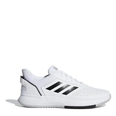 Adidasi de Tenis adidas adidas Courtsmash clasic pentru Barbati alb negru