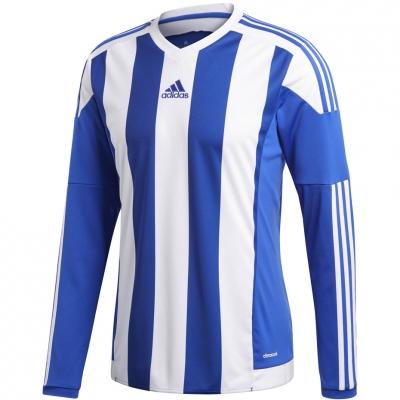 Adidas cu dungi 15 JSY maneca lunga albastru and alb S17190 copii teamwear adidas teamwear