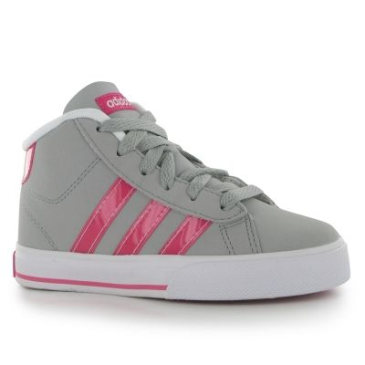 Adidasi sport adidas Daily Mid Nubuck pentru fete
