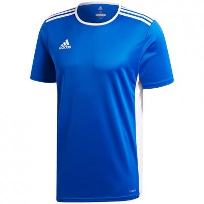 Tricou Adidas Entrada 18 albastru jersey CF1037 barbati