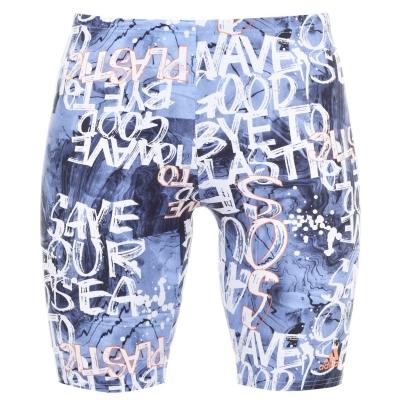 Pantaloni scurti inot adidas Fitness Parley pentru Barbati albastru coral