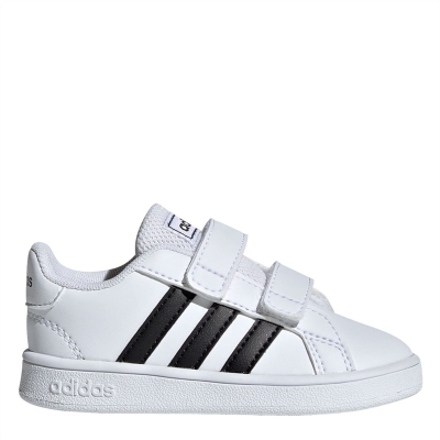 adidas Grand Court I In99 alb negru