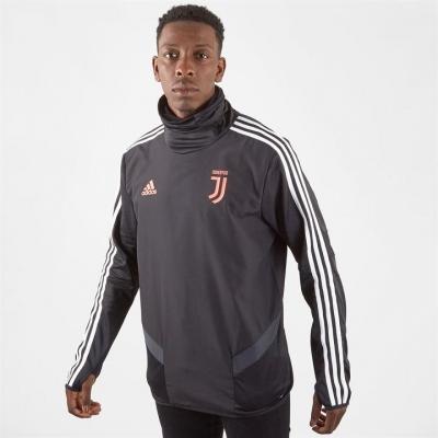 Pulover adidas Juventus pentru Barbati negru inchis gri