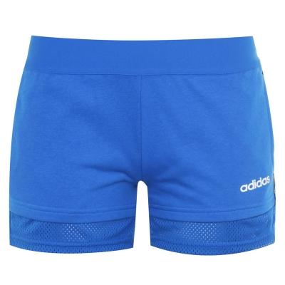 Pantaloni scurti adidas Essentials Mini Me pentru femei albastru alb