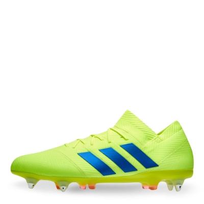 Ghete de fotbal adidas Nemeziz 18.1 FG solar galben