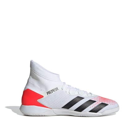 Adidasi Fotbal adidas Predator 20.3 Indoor alb negru