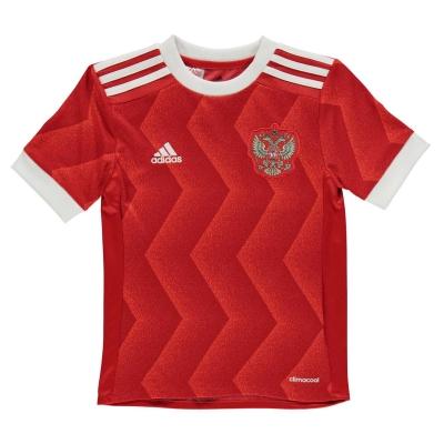 adidas Rusia Confederation Cup Shirt 2016 2017 pentru copii rosu alb