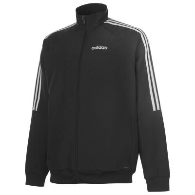 Jacheta adidas Sereno Presentation pentru Barbati negru alb
