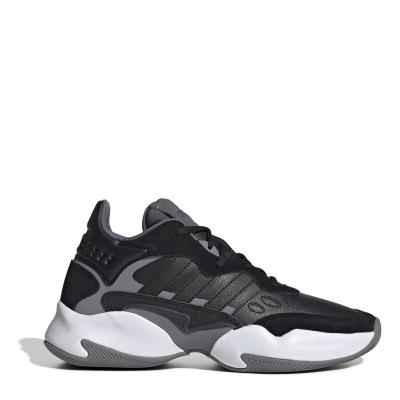 adidas Streetspirit 2.0 Shoes Mid pentru Barbati negru gri alb