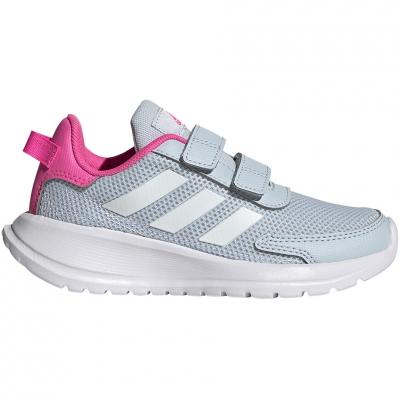 Adidas Tensaur Run C Shoes gri-roz FY9197 pentru Copii