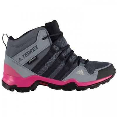 Bocanci adidas Terrex AX2R Mid pentru fetite