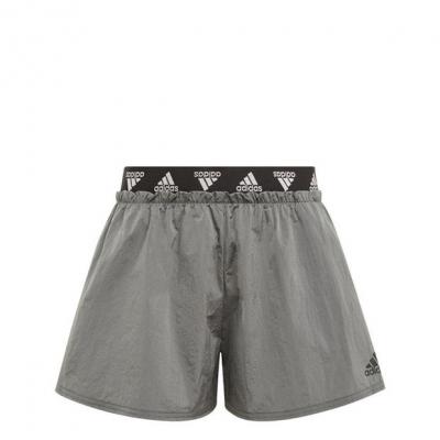 adidas Wov Dance ShrtJG13 negru gri