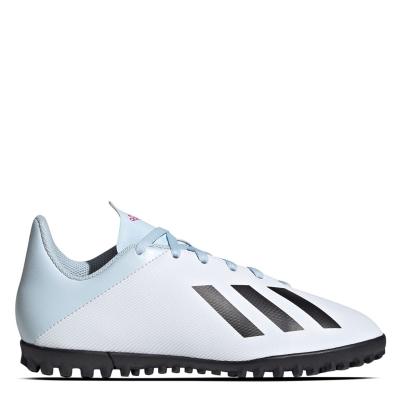 adidas X 19 Astro Turfs alb negru roz