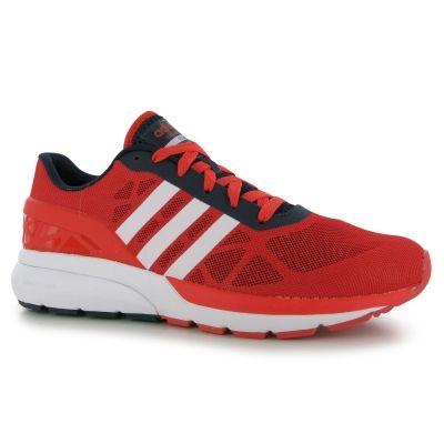 Adidasi sport adidas Cloudfoam Flow pentru Barbati rosu alb bleumarin