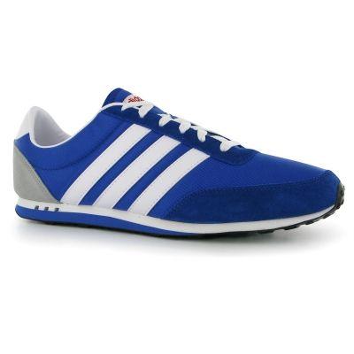 Adidasi  adidas V Racer Nylon pentru Barbati albastru alb