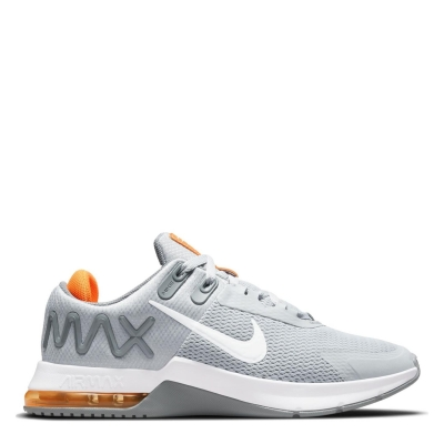 Adidasi Adidasi sport Nike Air Max Alpha 4 pentru Barbati gri alb portocaliu