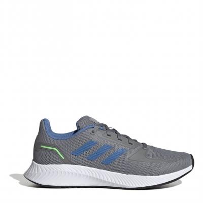 Adidasi alergare adidas Runfalcon 2 pentru baietei gri albastru