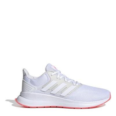 Adidasi alergare adidas Runfalcon pentru femei alb roz