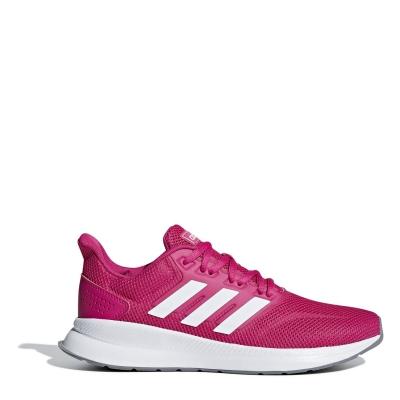 Adidasi alergare adidas Runfalcon pentru femei roz alb