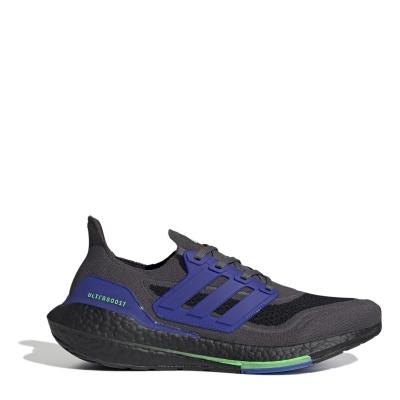 Adidasi alergare adidas Ultraboost 21 pentru Barbati gri five