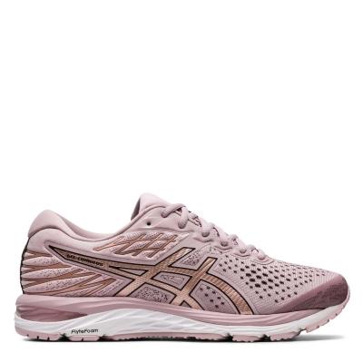 Adidasi alergare Asics Gel Cumulus 21 pentru Femei roz auriu