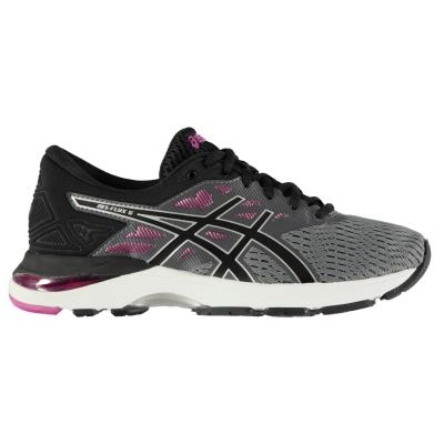 Adidasi alergare Asics Gel Flux 5 pentru Femei gri negru rosu