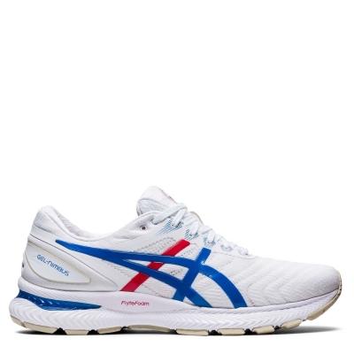 Adidasi alergare Asics Gel Nimbus 22 pentru Femei alb albastru rt