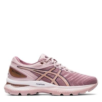 Adidasi alergare Asics GEL Nimbus 22 pentru Femei roz auriu