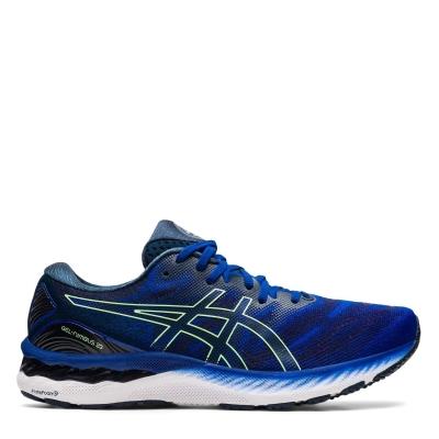Adidasi alergare Asics Gel Nimbus 23 pentru Barbati albastru verde lime
