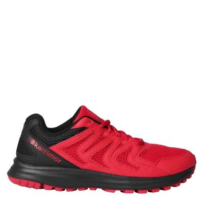 Adidasi alergare Karrimor Caracal pentru Barbati rosu negru