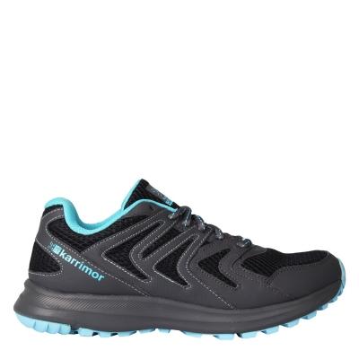 Adidasi alergare Karrimor Caracal pentru Femei gri carbune albastru