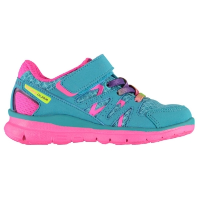 Adidasi alergare Karrimor Duma pentru Bebelusi bleu roz