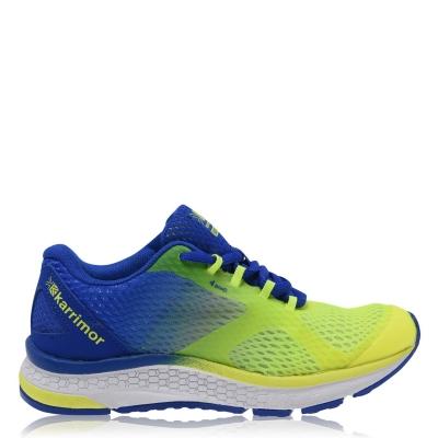 Adidasi alergare Karrimor Tempo 5 Road pentru baieti albastru verde lime