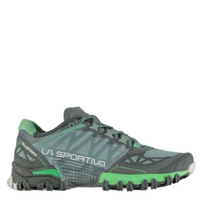 Adidasi alergare La Sportiva Bushido pentru Femei albastru verde