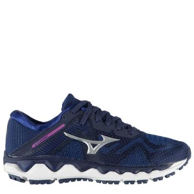 Adidasi alergare Mizuno Wave Horizon 4 pentru Femei albastru argintiu