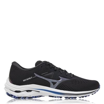 Adidasi alergare Mizuno Wave Inspire 17 pentru Barbati negru alb