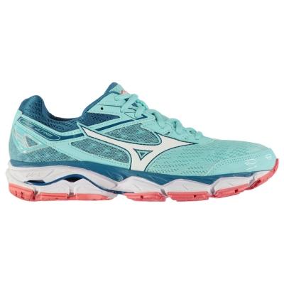 Adidasi alergare Mizuno Wave Ultima 9 pentru Femei albastru aqua alb