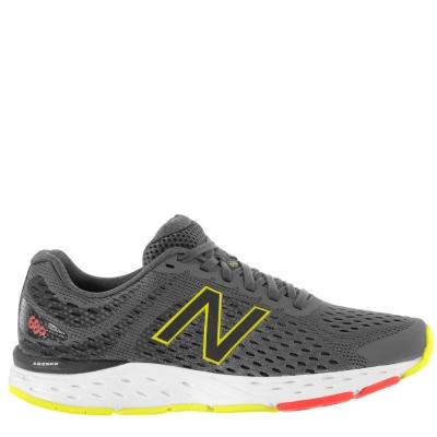 Adidasi alergare New Balance 680 v6 pentru Barbati gri carbune galben