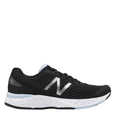 Adidasi alergare New Balance 680 v6 pentru Femei negru alb albastru