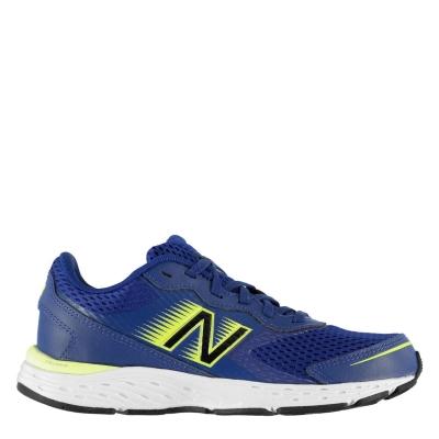 Adidasi alergare New Balance Balance 680v6 pentru baietei bleumarin galben