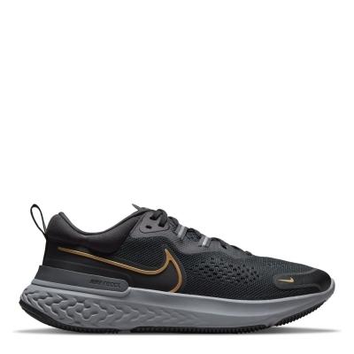 Adidasi alergare Nike React Miler 2 pentru Barbati negru auriu
