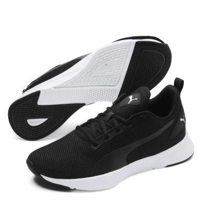 Adidasi alergare Puma Flyer Runner pentru Barbati negru alb