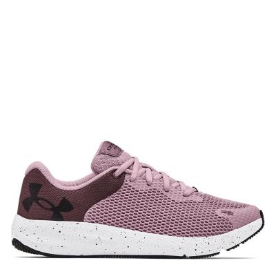 Adidasi alergare Under Armour Pursuit 2 roz negru