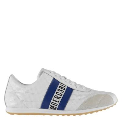 Adidasi Bikkembergs Barthel Low Top alb albastru