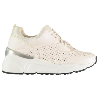 Adidasi sport Blink Glitch alb argintiu