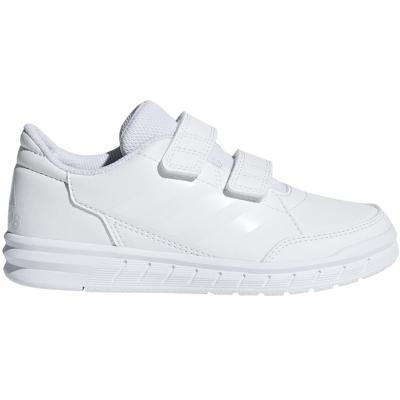 Adidasi copii Adidas AltaSport CF K alb D96832