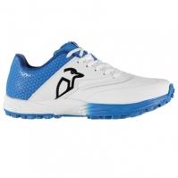 Adidasi cricket Kookaburra 2.0 cauciuc pentru copii alb albastru