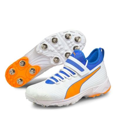 Adidasi cricket Puma 19.1 Bowling pentru Barbati alb albastru