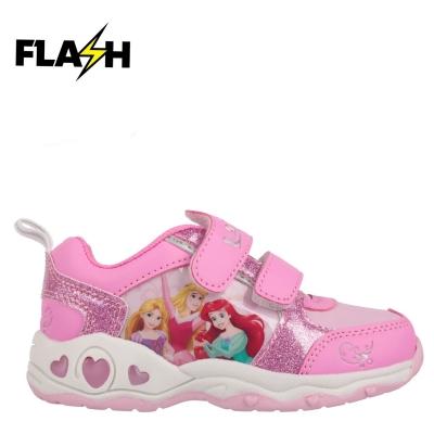Adidasi cu luminite pentru copii cu personaje disney printesa